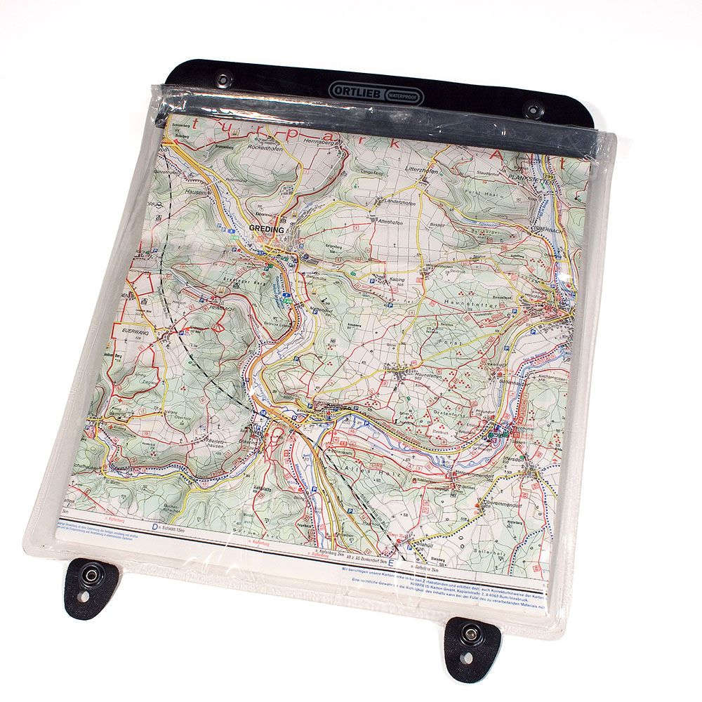 ORTLIEB Ultimate2-5 Map-Case - transparent